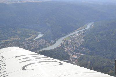 Ausblick über Hirschhorn